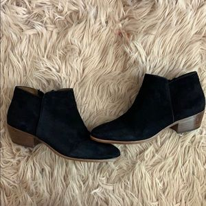 Sam Edelman Petty Suede Ankle Boots size 8
